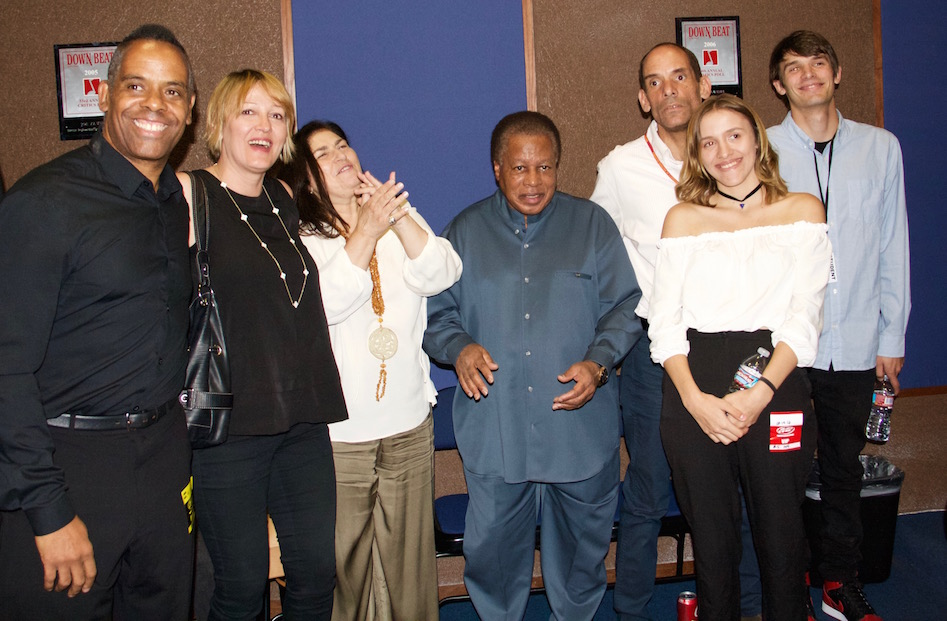 Wayne and Carolina Shorter with the Zawinul Family