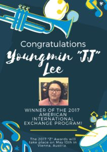 Congrats to our American – International Exchange Program Winner