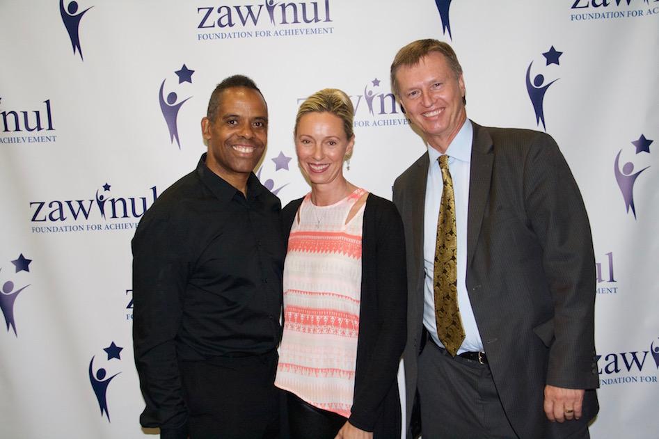 Tony Zawinul, Austrian Consul General Ullrike Ritzinger, Wolfgang Kovacek